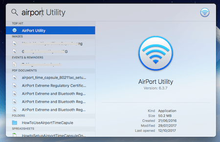 Airport Utility Search