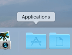 Applications Folder In Dock