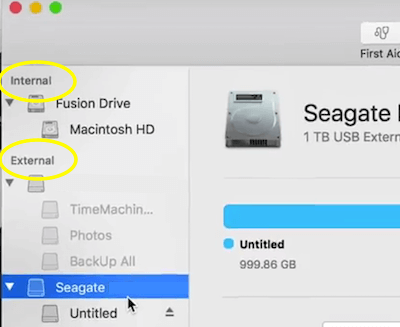 Seagate Internal External Drive List