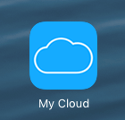 My Cloud App on iPad or iPhone