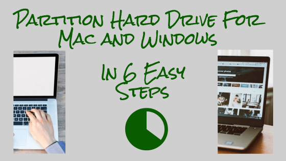Partition Hard Drive For Mac And Windows Title Image