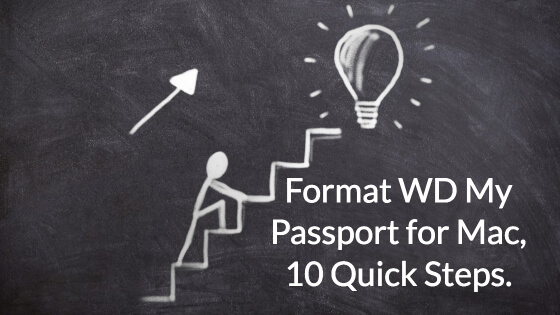 Format WD My Passport for Mac, 10 Quick Steps