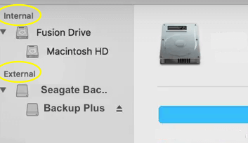 Seagate Backup Plus Internal External drive list