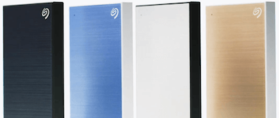 Seagate Backup Plus Slim Black Blue Silver Gold