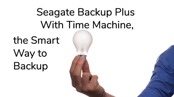 Seagate Backup Plus Time Machine title image