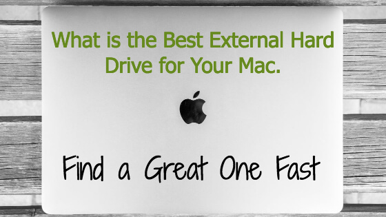 What is the Best External Hard Drive For Mac Title Image