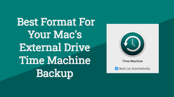 Best Format For Mac Time Machine Title Image