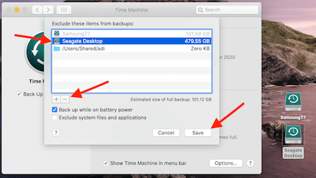 Time Machine 2 External Drives Options