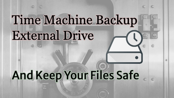Time Machine Backup External Drive Title Image