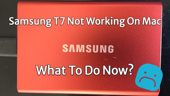 Samsung T7 Not Working On Mac Title Image