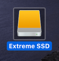 Sandisk Extreme Portable SSD Icon
