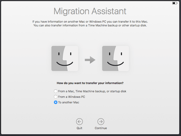 Old Mac Migration Assistant To Another Mac