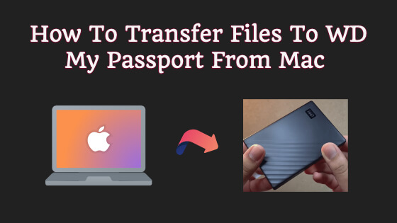 How To Transfer Files To WD My Passport From Mac Title Image