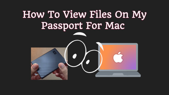 How To View Files On My Passport For Mac Title Image